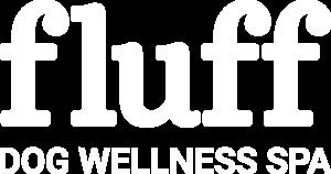 Fluff Dog Wellness Spa Logo